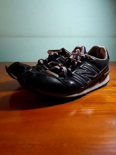 New Balance 368 Black Leather