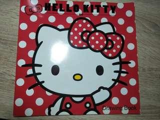 Hello Kitty Drawing Book (12 sheets)