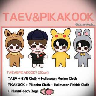[HELPING] WTS TaeV Bts Fansite Doll