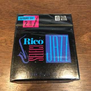 Rico Select Jazz (Soprano Saxophone)