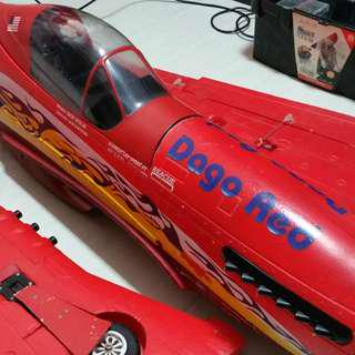 1.4m Length Dago Red Mustang RC Plane