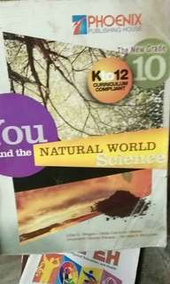 You and the natural world science grade 10 k12