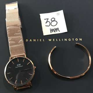 Authentic DW Watch Set