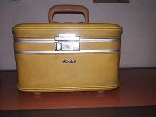Cosmetic case vintage Sunco