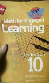 Math for engaged learning grade10 k12