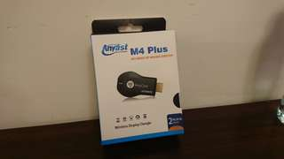 AnyCast M4 Plus Wireless Display Receiver (Support Android, IOS & Windows Miracast Funtion) World Cup Partner