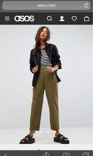 TAPERED TROUSER PANTS CHINO
