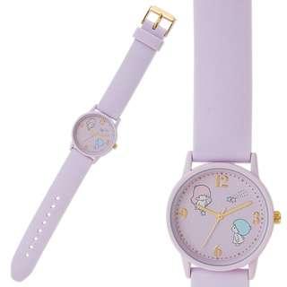 Japan Sanrio Little Twin Stars Silicon Belt Watch (house)