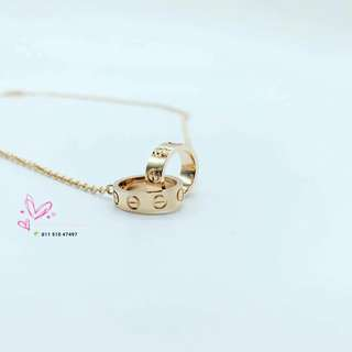 Cartier 18k Rose Gold handcrafted necklace