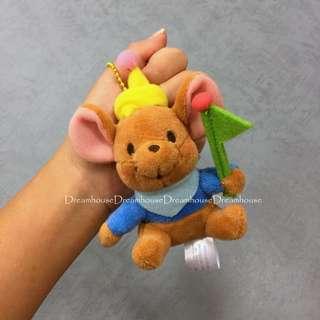 東京迪士尼 維尼 袋鼠 小荳 吊飾娃娃