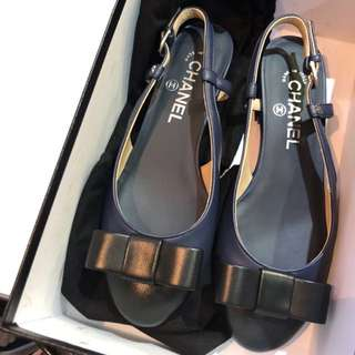 Chanel flat shoes 涼鞋 拖鞋