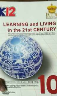 Learning and living in the 21st century grade 10 k12