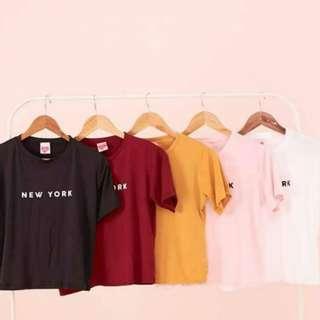 London and New York shirts