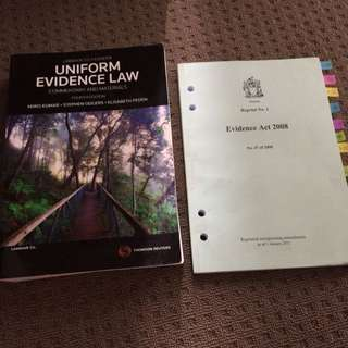 REDUCED! Evidence Law Texts