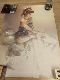 少女時代 Tiffany The Boys 官方海報 poster snsd