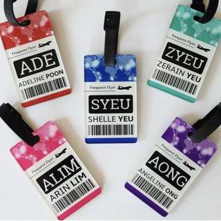 CUSTOM BAG TAG travel