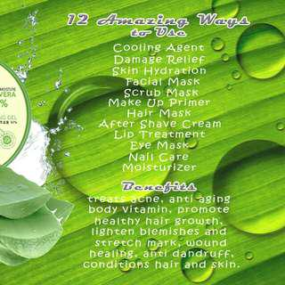 Aloe Vera Soothing and Moisturizing Gel 300mL