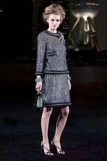 Chanel珠片重工套裙