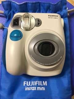 即影即有相機連袋Fujifilm instax mini 7S with blue bag
