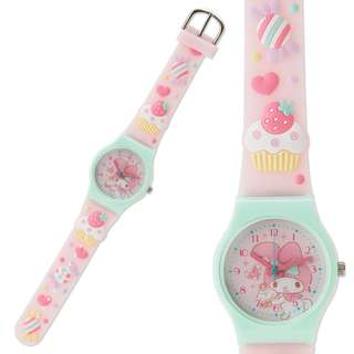 Japan Sanrio My Melody Kids Rubber Watch (Sweets)