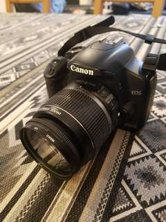 Canon EOS 450D, moving overseas