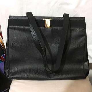 Salvatore Ferragamo Vintage Shopper Bag