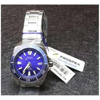 5折出售 深水步有門市全新1年保養有單正版正貨 日期星期 計時 SEIKO 精工 SRPC93K1