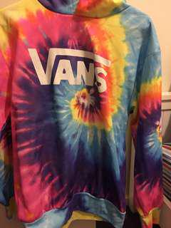 Vans rainbow hoodie brand new