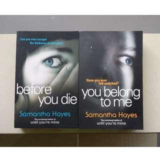 Samantha Hayes Books