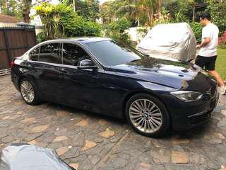 BMW 328i Luxury 2013 Saddle Brown on Imperial Blue F30 42k on going