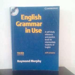 Buku English Grammar in Use Third Edition Karya Raymond Murphy