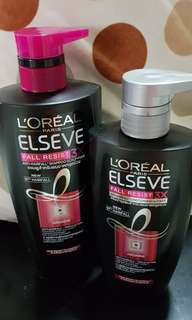 Loreal shampoo and conditioner
