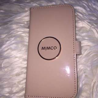 NEW mimco pink iphone x case