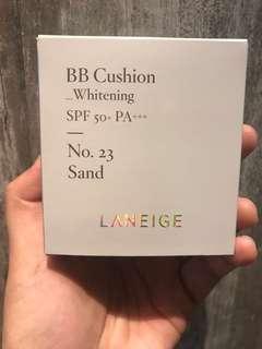 Laneige BB cushion whitening NO 23 sand
