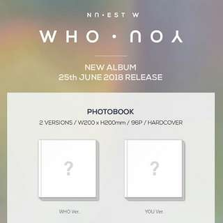 NU'EST W-Who You [Album]