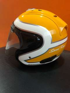 Arai Ram3 Speedking(Yellow)