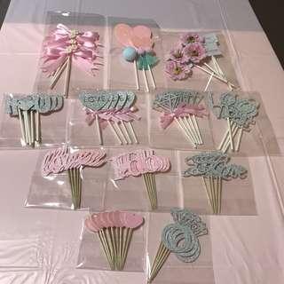 婚禮粉色甜品裝飾 wedding candy corner