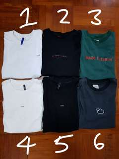 Men's T-shirt (x04 a&f madness Fred perry Tommy 衫 t裇