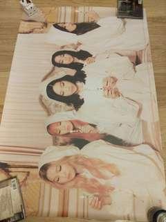 Red Velvet The Velvet 官方海報 poster snsd