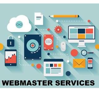 Webmaster Services Website Management Services