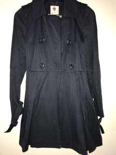 In Satin ladies jacket/ coat  as new condition size M