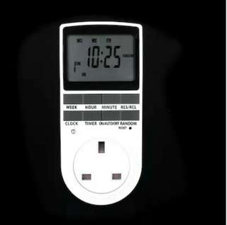 (179)SG Digital LCD Power Programmable Timer Switch Summer Random Function