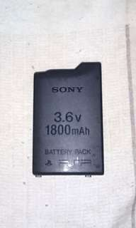 Original SONY PSP Battery For PSP 1000 Model. 100% WORKING BATTERY!!!.  100% NO PROBLEM!!!.  100% ORIGINAL SONY BATTERY!!!.  ** PLEASE REPLY IN ENGLISH!!! 🤗 **