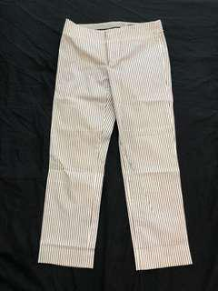 Club Monaco Striped Ankle Pant