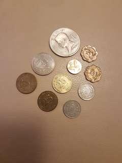 菲律賓錢幣10個