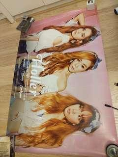 少女時代 Taetiseo Holler 官方海報 poster snsd tts