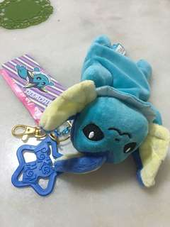 Pokémon center vaporeon plush keychain