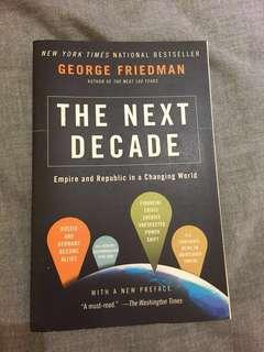 The Next Decade book