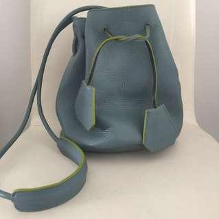 Rabeanco Bucket Bag (Small)  -Dusty Blue color