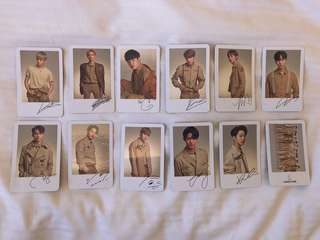 [INCOMING READY STOCK] WANNA ONE CONCERT GOODS POLAROID SET LOOSE ITEM